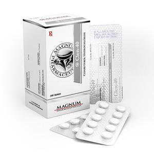 Comprarlo Clorhidrato de clenbuterol (Clen): Magnum Clen-40 Precio
