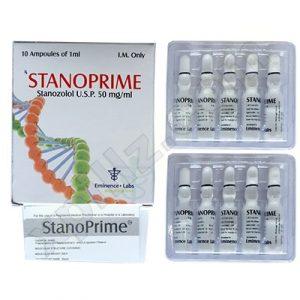 Comprarlo Inyección de estanozolol (depósito de Winstrol): Stanoprime Precio