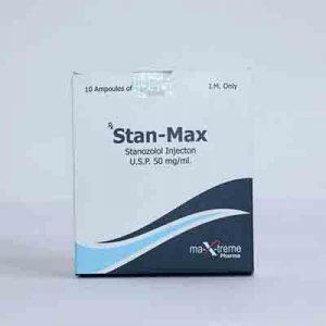 Comprarlo Inyección de estanozolol (depósito de Winstrol): Stan-Max Precio