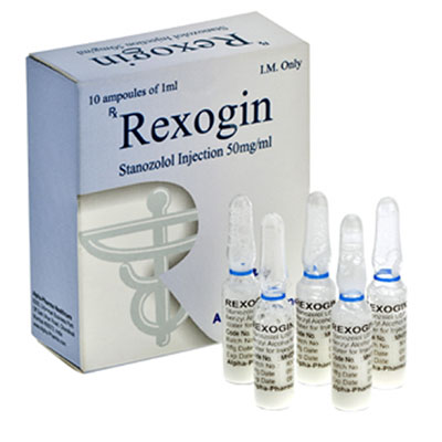 Comprarlo Inyección de estanozolol (depósito de Winstrol): Rexogin Precio