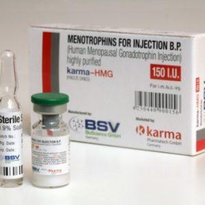 Comprarlo Hormona de crecimiento humano (HGH): HMG 150IU (Humog 150) Precio