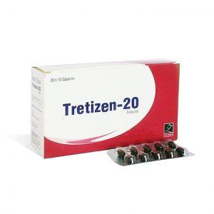 Comprarlo Isotretinoína (Accutane): Tretizen 20 Precio