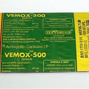 Comprarlo Amoxicilina: Vemox 500 Precio