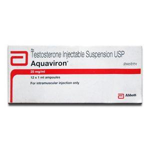Comprarlo Suspensión de testosterona: Aquaviron Precio